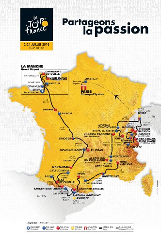 Tour de France 2016 passerra a Decazeville